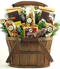 christmas gift baskets family a rustic gift basket size large great