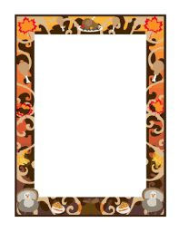 thanksgiving page borders happy thanksgiving