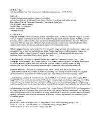 Good Resume Examples For University Students Good Words To Use On A Resume Free Resume Example And Writing