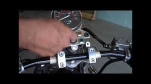honda rebel 250 125 drag bars youtube