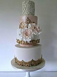 gold wedding white u0026 gold wedding cakes 2205805 weddbook