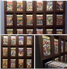 comic book storage cabinet my cgc comic display storage cabinet comic book storage