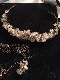 necklace earring bracelet set images Real citrine necklace earring bracelet set jpg