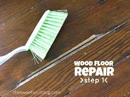 Repair Scratches In Wood Floor Impressive Wood Floor Repair How To Fix Scratches In Hardwood