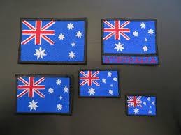 Austailia Flag Australia Flag U2013 Custom Biker Patches