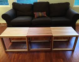 furniture forrest hudes parquet coffee table birch and poplar