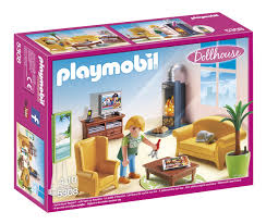 playmobil cuisine 5329 afbeelding playmobil dollhouse 5308 woonkamer met houtkachel