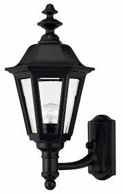 black outdoor lighting fixtures black manor house u003e exterior wall mount