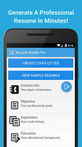 Free Resume Builder Online No Cost by Resume Builder Pro Android Apps On Google Play