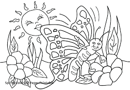 spring coloring sheets spring coloring pages for preschoolers 27 and printable decor 4