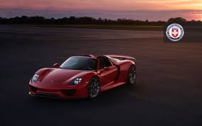 porsche dark red this red porsche 918 spyder is as beautiful as a sunset