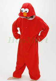 fleece elmo cookie monster cosplay animal pajamas fantasias dress anime onesie cartoon halloween costume for adults jpg