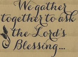 thanksgiving quote we gather together embroidery design file