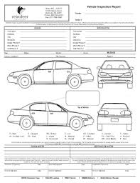 Vehicle Inspection Report Template Free by Used Car Inspection Checklist Printable Fill Printable