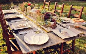 rustic dinner table settings thanksgiving rustic table settings coma frique studio 1eef27d1776b