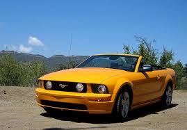 orange mustang convertible ford mustang gt convertible review the about cars