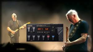 David Gilmour Comfortably Numb David Gilmour Comfortably Numb Solo Boss Gt 100 Youtube