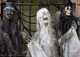 Halloween Shop Decorations Halloween Wind Against Current