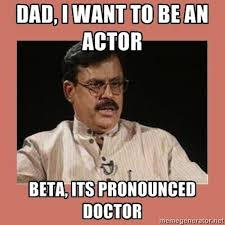 Internet Meme Pronunciation - what indian parents say but what they really mean sanch writes
