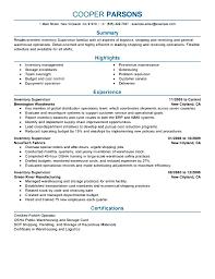 100 sample warehouse resume