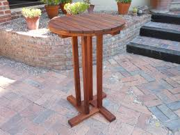 High End Outdoor Furniture by Round Bar Table Resten Outdoor Furniture