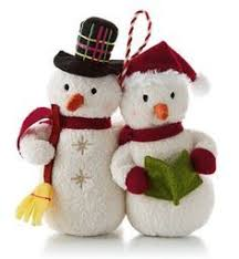 21 best hallmark snowman collection images on plush