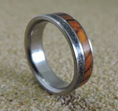 can titanium rings be engraved mens titanium wedding band mens meteorite ring desert