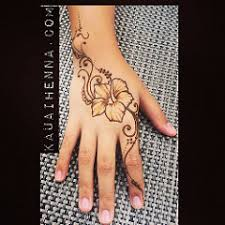 henna tattoo bodyart kauai hawaii art designs hibiscus