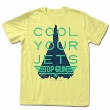 light yellow t shirt top gun shirt cool your jets light yellow t shirt top gun shirts