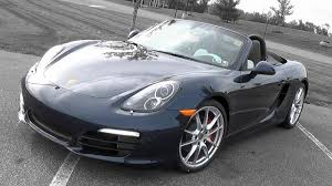 Porsche Boxster Base - 2015 2016 porsche boxster s review youtube