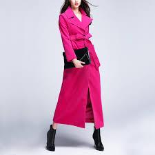 elegant slim wool trench coat promotion shop for promotional