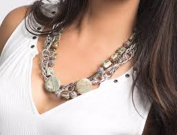 statement necklace sterling silver images Hadassah statement necklace gemstone sterling silver jpg