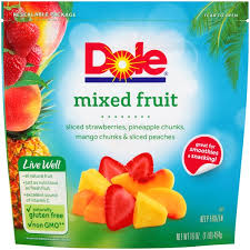 dole fruit snacks dole mixed fruit 16 oz from mariano s instacart