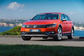 red orange cars wallpaper volkswagen passat alltrack sedan orange cars u0026 bikes
