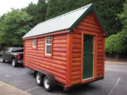 tiny cabin on wheels nc tiny log cabin on wheels for sale for 16k tiny house pins