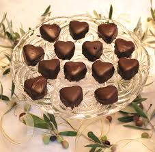 heart chocolate heart chocolate and vanilla petits fours s products