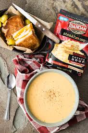 soup for thanksgiving loaded potato soup with turkey grilled cheese foodness gracious
