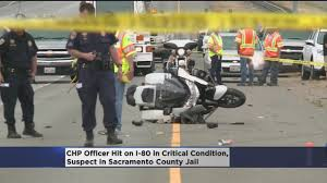 Chp Call Log by Chp Officer Injured In Hit And Run Remains In Critical Condition