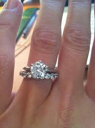 engagement rings that look real solitaire or nontraditional engagement ring fiance