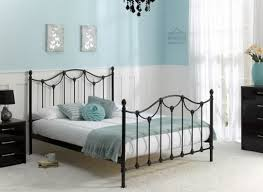 bed frame with lights black bed frame with light dusty blue accents blissful living