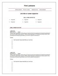 Free Resume Biulder 7 Free Blank Cv Resume Templates For Download U2013 Free Cv Template