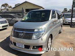 nissan elgrand auto japan