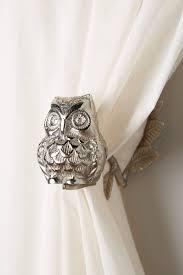 wise owl curtain tieback anthropologie