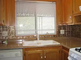 tin kitchen backsplash get a tin kitchen backsplash custom installed decor trends