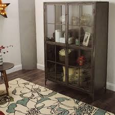 Display Dishes In China Cabinet Metal Display Cabinet World Market