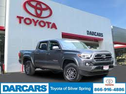 certified 2017 toyota tacoma sr5 for sale in silver spring md