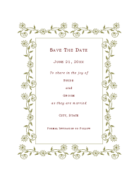 Save The Date Cards Free Download Free Printable Invitations Of Save The Date Card