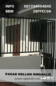 pagar balkon hollow minimalis