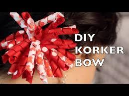 korker ribbon diy korker hair bow how to make a korker ribbon bow