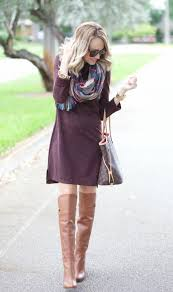 sweater dress and a spoonful of style sweater dress and blanket scarf